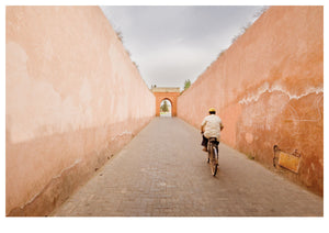Exiting the Marrakesh Medina (119x84cm)