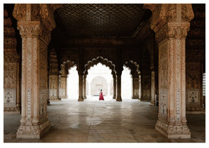 The Red Fort, New Delhi (119x84cm)