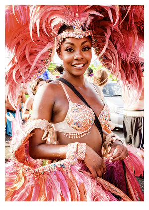 2k14 Port of Spain Carnival I (42x59cm)