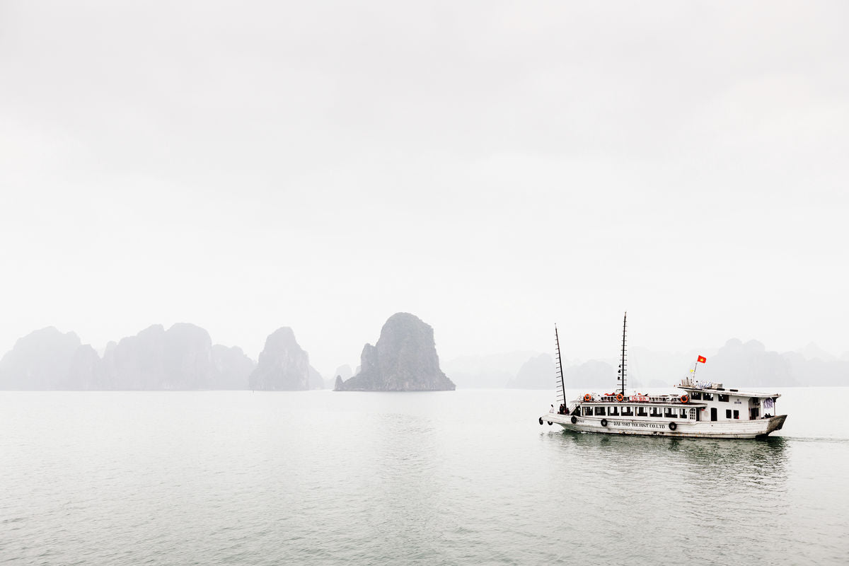 Misty Ha Long Bay