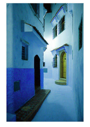 Night in Chefchaouen (42x59cm)