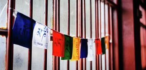 Dunggon Samten Choling Gompa Prayer Flags