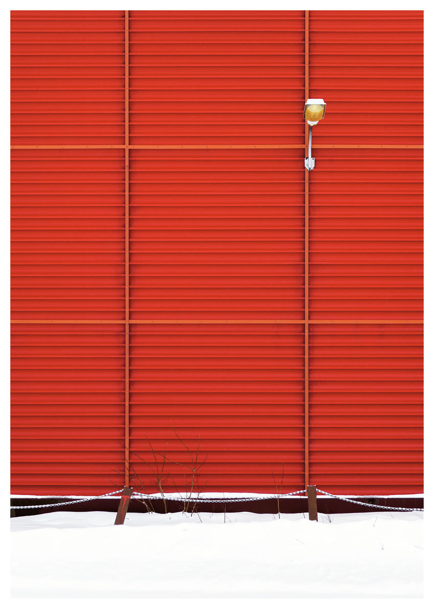 Red Wall in Mosjøen, Norway I (84x119cm)