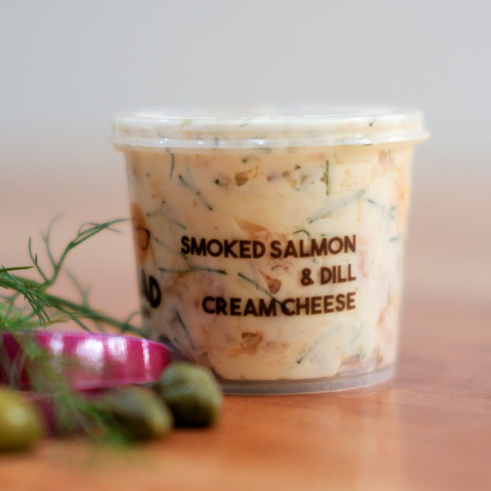 Smoked Salmon & Dill Cream Cheese