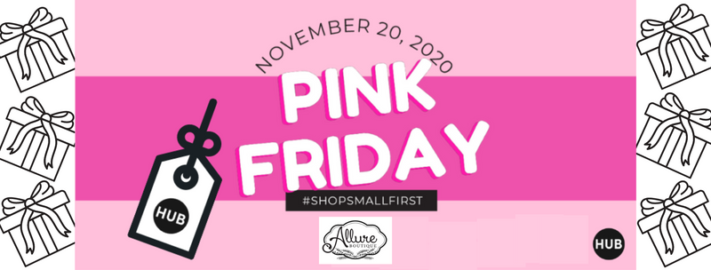 Pink Friday #ShopSmallFirst