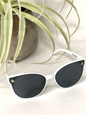 American Bonfire Rockstar Sunglasses In White - Allure Boutique WY
