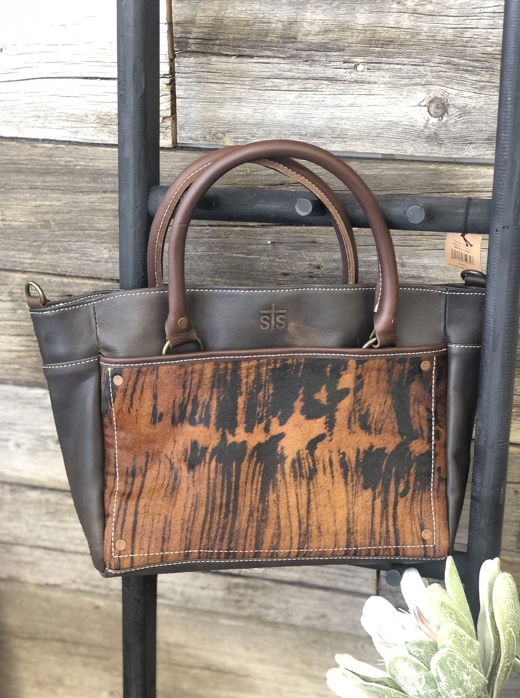 Brindle Satchel - Allure Boutique WY