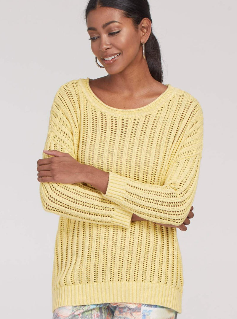 Buttercup Open Rib Sweater - Allure Boutique WY