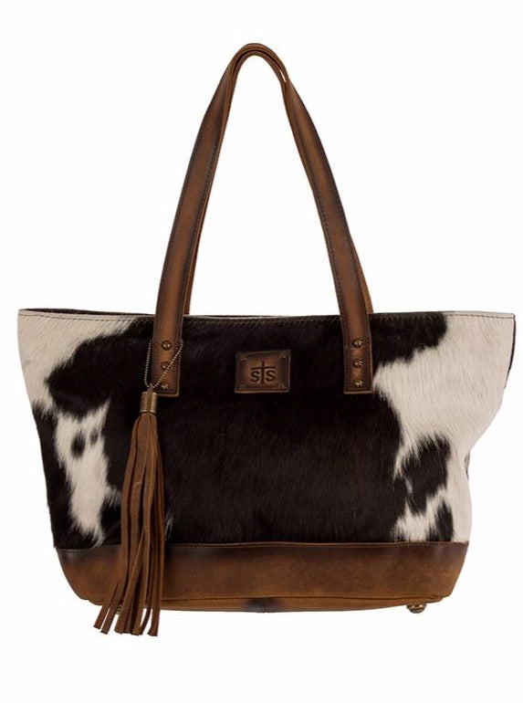 Cowhide Tote - Allure Boutique WY