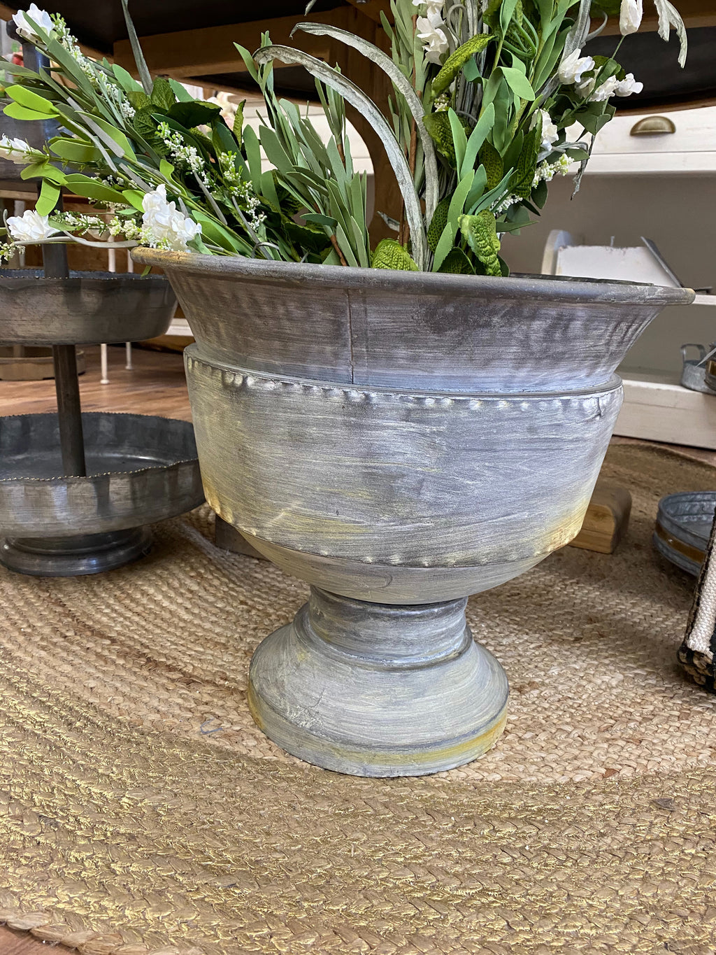 CC XC7233 Iron Planter Medium - Allure Boutique WY