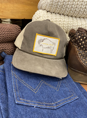 Wyoming Corduroy Trucker Cap - Allure Boutique WY