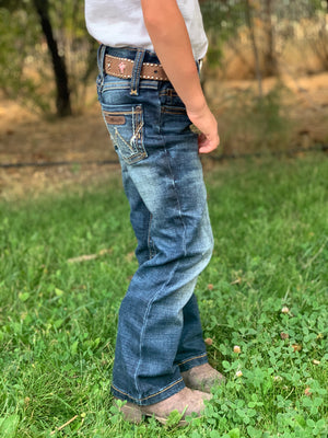 Girls Wrangler Multi Stitch Bootcut Jean - Allure Boutique WY