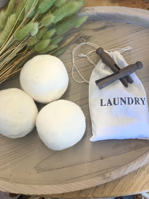 Wool Dryer Ball Set - Allure Boutique WY