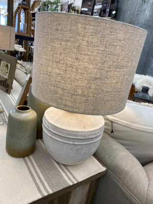 Cement Table Lamp - Allure Boutique WY