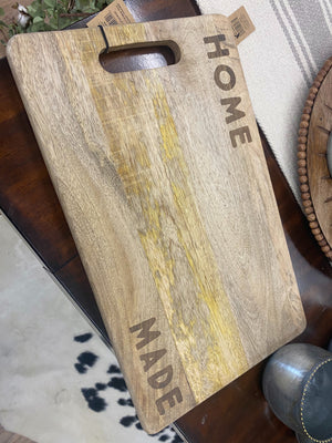 Home Made Cutting Board - Allure Boutique WY