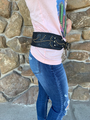 JA Tooled Belt - Allure Boutique WY