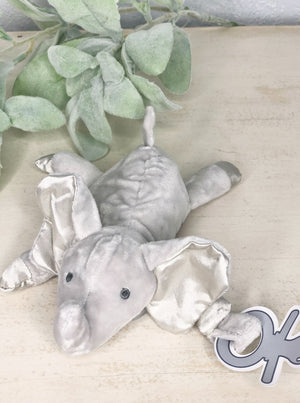 Pacifier Plush Elephant - Allure Boutique WY