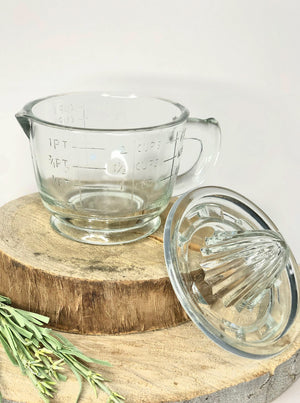 Pressed Glass Juicer - Allure Boutique WY