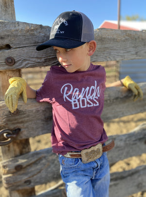 Ranch Boss Kids Tee - Allure Boutique WY