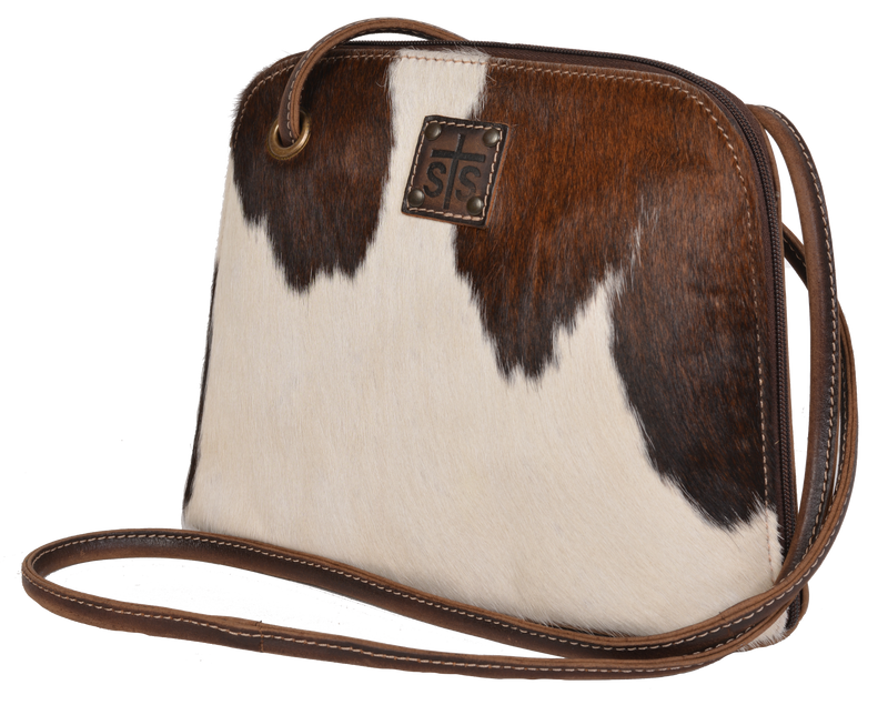 Cowhide Crossbody Classic - Allure Boutique WY
