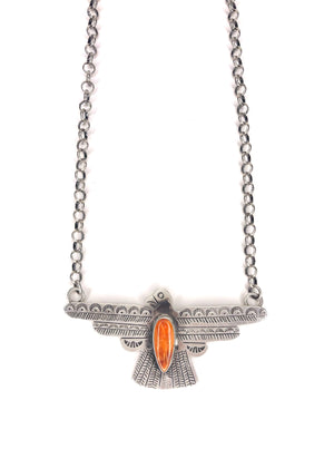 Spiny Oyster Thunderbird Necklace - Allure Boutique WY