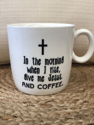 Stoneware Mug In The Morning - Allure Boutique WY