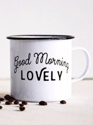 Good Morning Lovely Mug - Allure Boutique WY