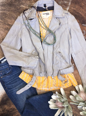 Wild Stone Lamb Skin Jacket - Allure Boutique WY