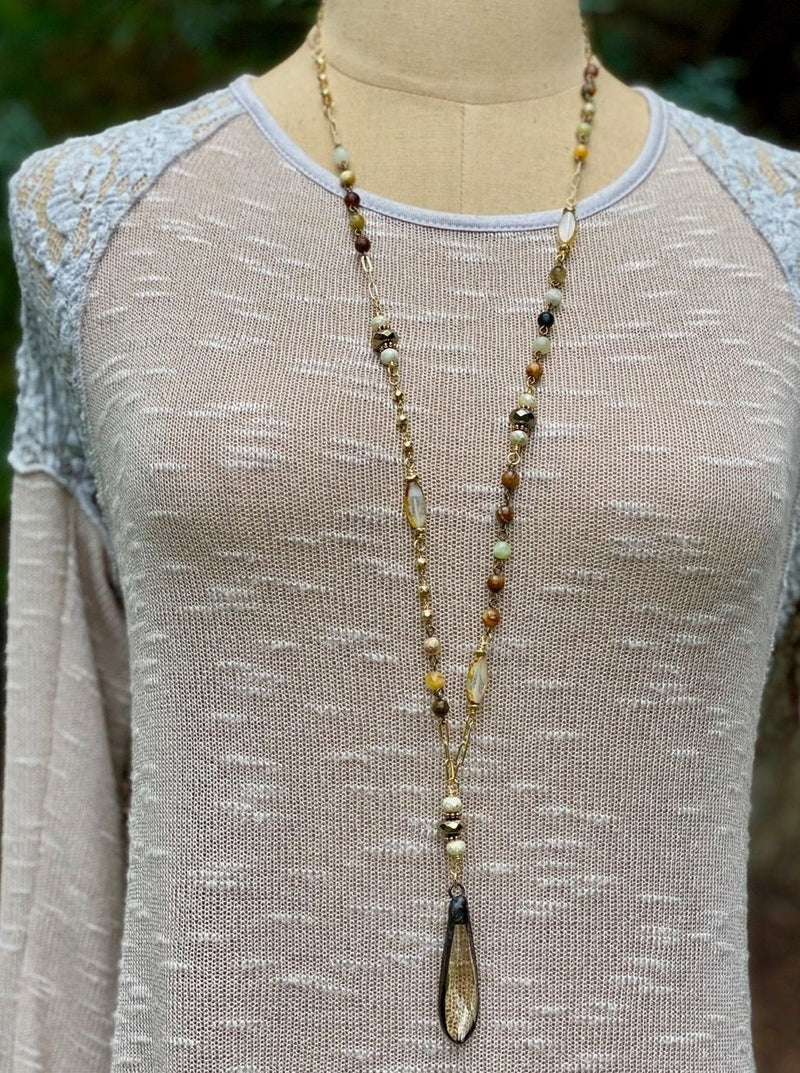Wildflower IW Necklace - Allure Boutique WY