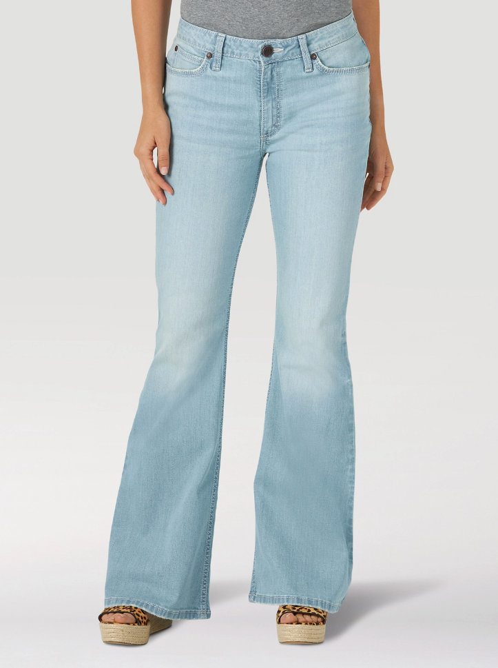 Wrangler Paige High Rise Flare Jean - Allure Boutique WY