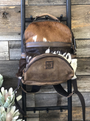 Cowhide Backpack - Allure Boutique WY