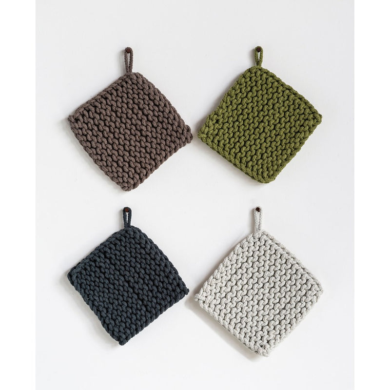 Cotton Crocheted Potholder - Allure Boutique WY