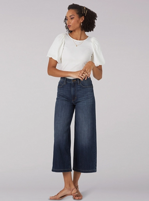 Lee Wide Leg Crop - Allure Boutique WY