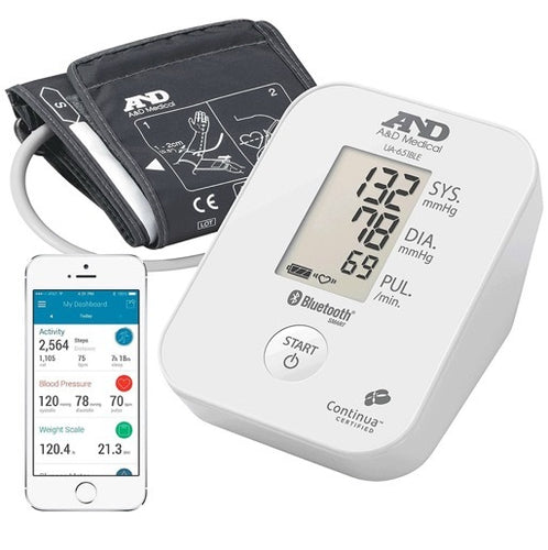 A&D UA-651BLE Blood Pressure Monitor - Bluetooth