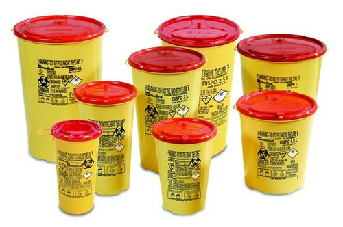 AP Medical Sharps Round Disposable Containers (DISPO Line)