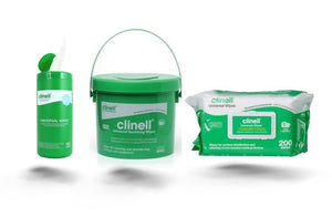 Clinell Universal Disinfectant Wipe - Green