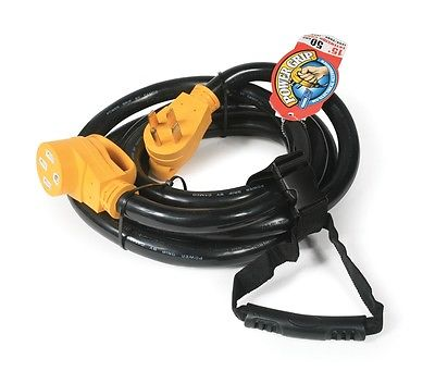 Camco 55194 PowerGrip 50A 15' Extension Cord with Handles