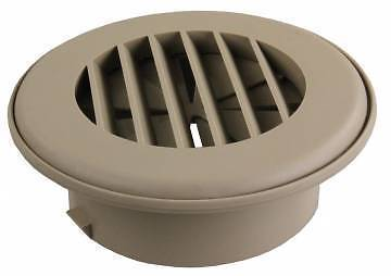 JR Products HV4DTN-A ThermoVent Tan Dampered Heat Duct Vent