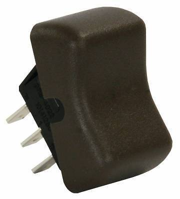 JR Products 13085 Brown 3 Pin Replacement On/On Switch