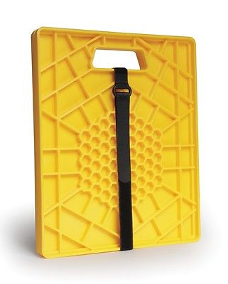 "Camco 44541 14"" X 11.7"" Heavy Duty Yellow Jack Pads - 2pk"