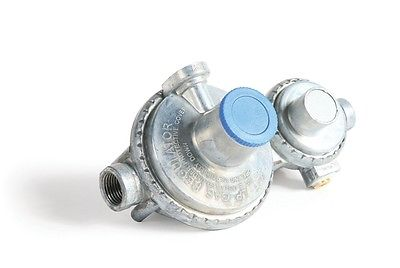 Camco 59323 Olympian Horizontal Two Stage Propane Regulator