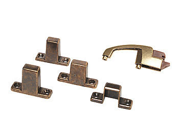 RV Designer H243 Multi-Fit Antique Postive Door Latch