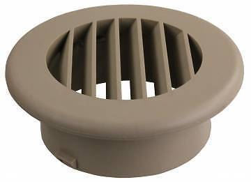JR Products HV4TN-A ThermoVent Tan Undampered Heat Duct Vent