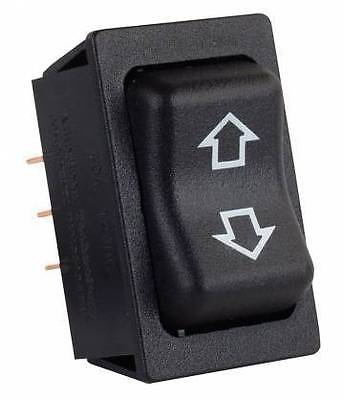 JR Products 12295 Black Momentary Slide-Out High Current Motor Switch