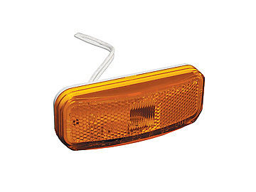 RV Designer E387 Amber Winnebago Style Repl. Clearance Light
