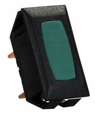 JR Products 13315 Green Indicator Light with Black Bezel