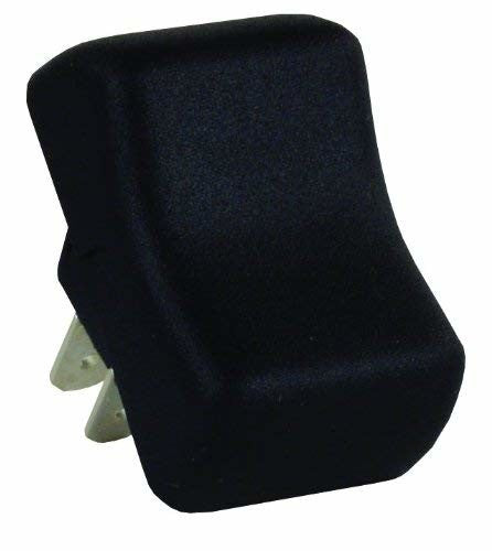 JR Products 12255 Black 2 Pin Replacement On/Off Switch