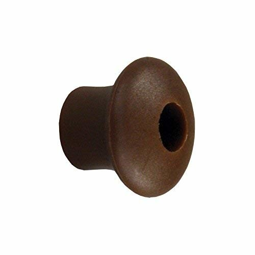 JR Products 81825 Brown Replacement Blind Knobs - 4pk