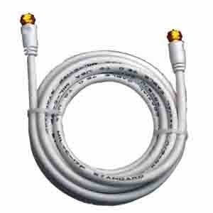 Prime Products 08-8023 25' White Round RG-6U Coaxial Cable