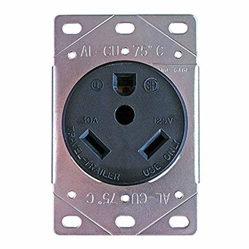 Progressive Industries TT-30DFR 30A Female Electrical Wall Receptacle